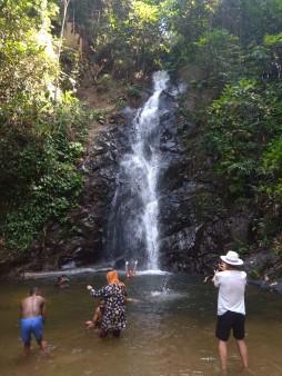 Durian Perengin Waterfall Langkawi