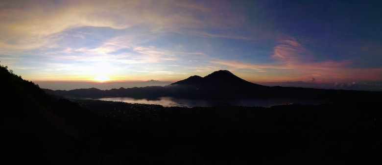 Mt. Batur - východ Slunce
