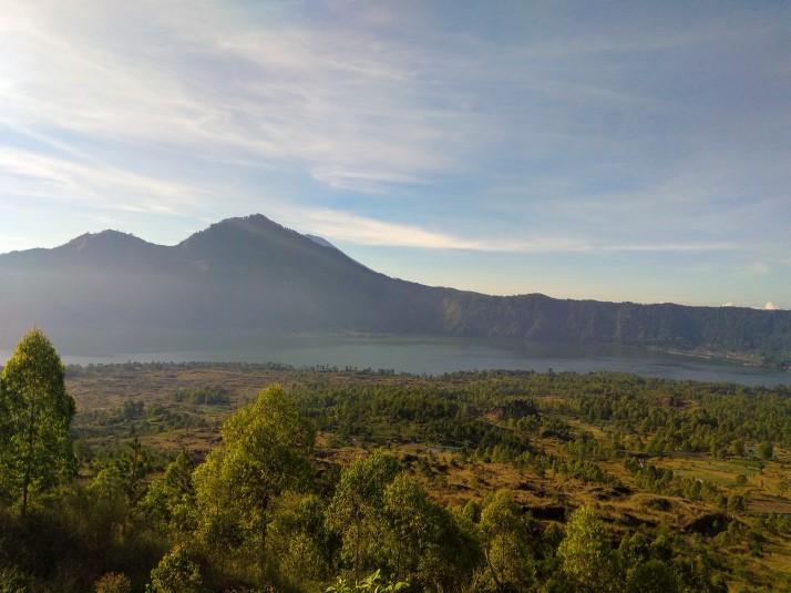 Mt. Batur - údolí
