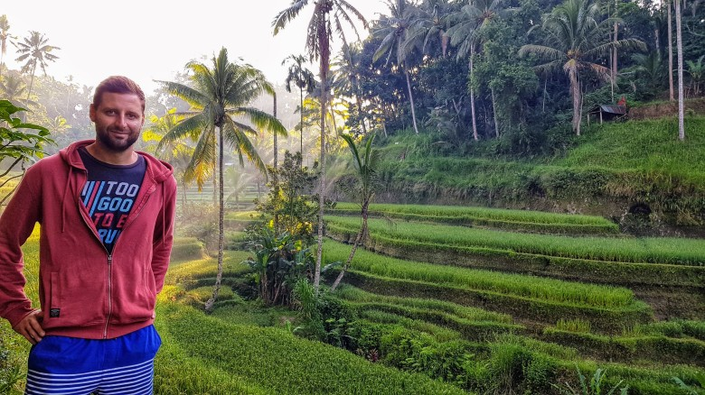 Tegalalang rice teracces